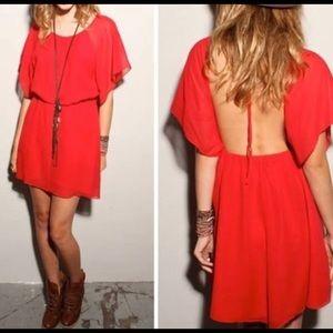 🔵Elizabeth and James Red Dress